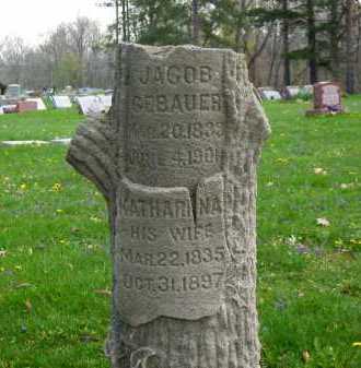 GEBAUER, JACOB - Lorain County, Ohio | JACOB GEBAUER - Ohio Gravestone Photos