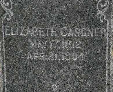 GARDNER, ELIZABETH - Lorain County, Ohio | ELIZABETH GARDNER - Ohio Gravestone Photos