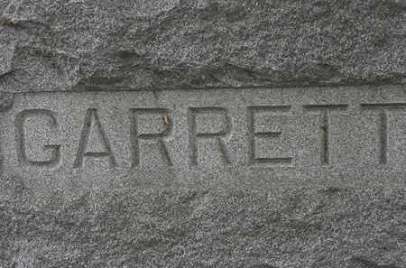 GARRETT, FAMILY MARKER - Lorain County, Ohio | FAMILY MARKER GARRETT - Ohio Gravestone Photos