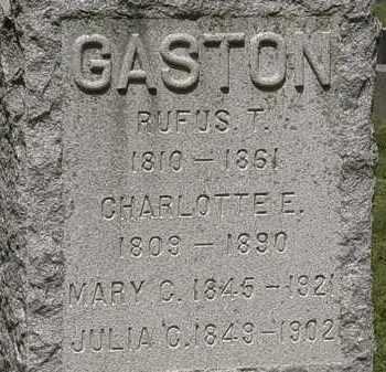 GASTON, JULIA C. - Lorain County, Ohio | JULIA C. GASTON - Ohio Gravestone Photos
