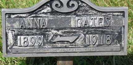 GATES, ANNA - Lorain County, Ohio   ANNA GATES - Ohio Gravestone Photos