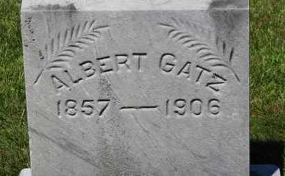GATZ, ALBERT - Lorain County, Ohio   ALBERT GATZ - Ohio Gravestone Photos