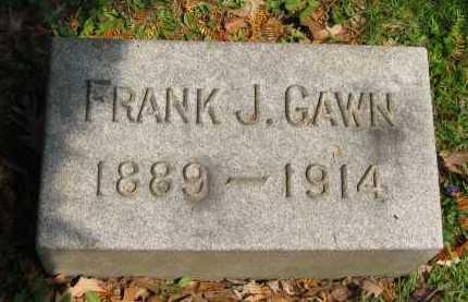 GAWN, FRANK J. - Lorain County, Ohio   FRANK J. GAWN - Ohio Gravestone Photos