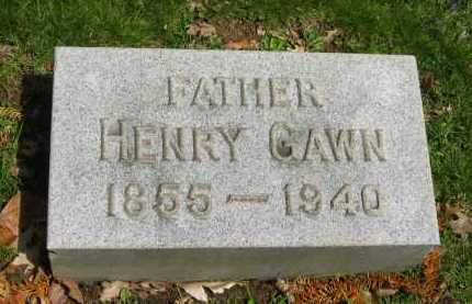 GAWN, HENRY - Lorain County, Ohio   HENRY GAWN - Ohio Gravestone Photos