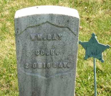 GAY, WM. - Lorain County, Ohio   WM. GAY - Ohio Gravestone Photos