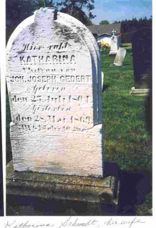 GEDERT, ANNA KATHARINA - Lorain County, Ohio | ANNA KATHARINA GEDERT - Ohio Gravestone Photos