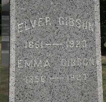GIBSON, EMMA - Lorain County, Ohio   EMMA GIBSON - Ohio Gravestone Photos