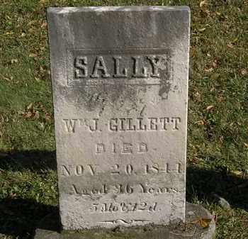 GILLETT, SALLY - Lorain County, Ohio | SALLY GILLETT - Ohio Gravestone Photos