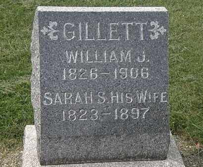 GILLETT, SARAH S. - Lorain County, Ohio | SARAH S. GILLETT - Ohio Gravestone Photos