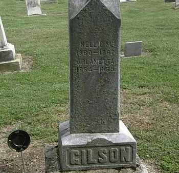 GILSON, NELLIE M. - Lorain County, Ohio | NELLIE M. GILSON - Ohio Gravestone Photos