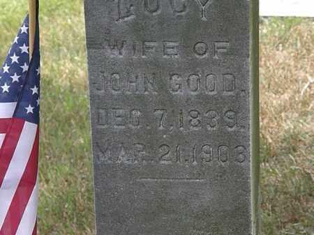 GOOD, LUCY - Lorain County, Ohio | LUCY GOOD - Ohio Gravestone Photos