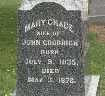 GOODRICH, MARY - Lorain County, Ohio | MARY GOODRICH - Ohio Gravestone Photos
