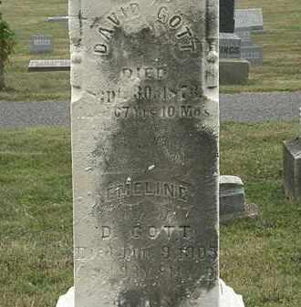 GOTT, EMELINE - Lorain County, Ohio | EMELINE GOTT - Ohio Gravestone Photos