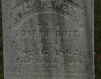 POWERS GOTT, LUCY - Lorain County, Ohio | LUCY POWERS GOTT - Ohio Gravestone Photos