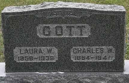 GOTT, LAURA W. - Lorain County, Ohio | LAURA W. GOTT - Ohio Gravestone Photos
