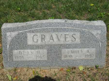 GRAVES, EMILY - Lorain County, Ohio | EMILY GRAVES - Ohio Gravestone Photos