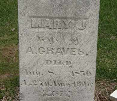 GRAVES, A. - Lorain County, Ohio   A. GRAVES - Ohio Gravestone Photos