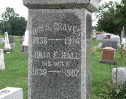 GRAVES, WM. S. - Lorain County, Ohio   WM. S. GRAVES - Ohio Gravestone Photos