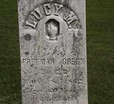GREEN, FREEMAN - Lorain County, Ohio | FREEMAN GREEN - Ohio Gravestone Photos