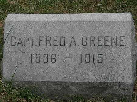 GREENE, FRED A. - Lorain County, Ohio   FRED A. GREENE - Ohio Gravestone Photos