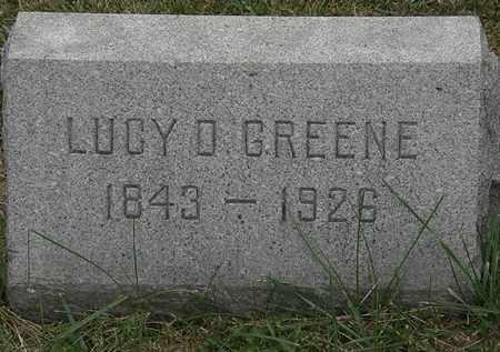 GREENE, LUCY D. - Lorain County, Ohio   LUCY D. GREENE - Ohio Gravestone Photos