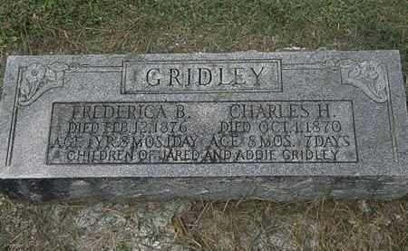 GRIDLEY, JARED - Lorain County, Ohio | JARED GRIDLEY - Ohio Gravestone Photos