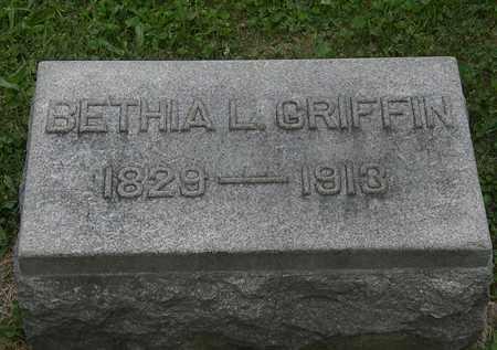 GRIFFIN, BETHIA L. - Lorain County, Ohio | BETHIA L. GRIFFIN - Ohio Gravestone Photos