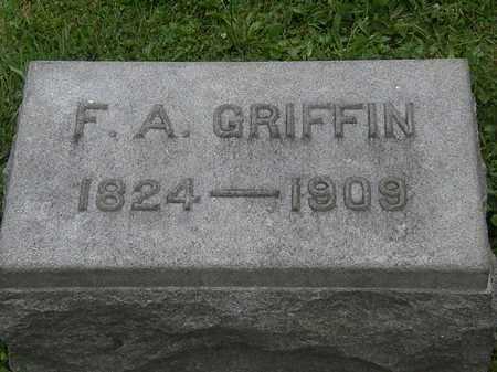 GRIFFIN, F.A. - Lorain County, Ohio | F.A. GRIFFIN - Ohio Gravestone Photos