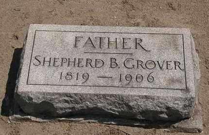 GROVER, SHEPHERD - Lorain County, Ohio | SHEPHERD GROVER - Ohio Gravestone Photos