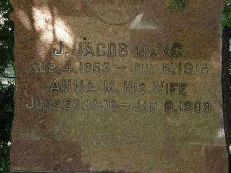 HAAG, ANNA M. - Lorain County, Ohio | ANNA M. HAAG - Ohio Gravestone Photos