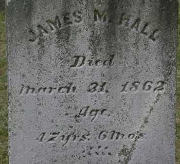 HALL, JAMES M. - Lorain County, Ohio   JAMES M. HALL - Ohio Gravestone Photos