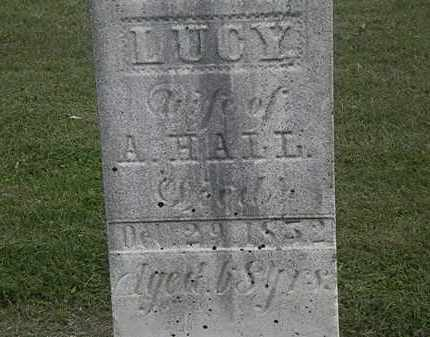 HALL, A. - Lorain County, Ohio   A. HALL - Ohio Gravestone Photos