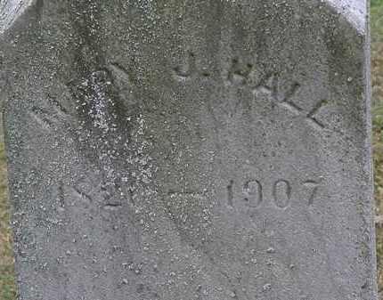 HALL, MARY J. - Lorain County, Ohio | MARY J. HALL - Ohio Gravestone Photos