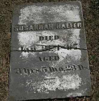 HALTER, SUDANNAH - Lorain County, Ohio   SUDANNAH HALTER - Ohio Gravestone Photos