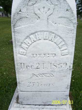 HAMLIN, SARAH - Lorain County, Ohio | SARAH HAMLIN - Ohio Gravestone Photos