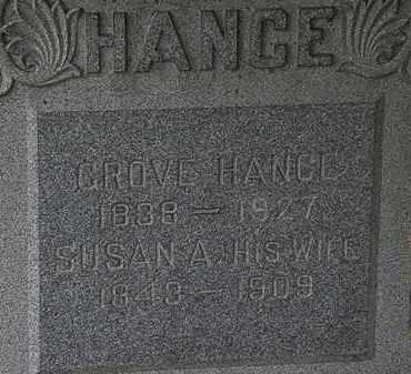 HANCE, SUSAN A. - Lorain County, Ohio   SUSAN A. HANCE - Ohio Gravestone Photos