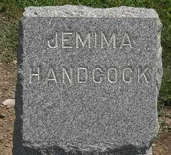 HANDCOCK, JEMIMA - Lorain County, Ohio | JEMIMA HANDCOCK - Ohio Gravestone Photos