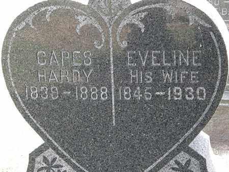 HARDY, CAPES - Lorain County, Ohio | CAPES HARDY - Ohio Gravestone Photos