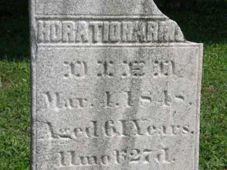 HARMON, HORATIO - Lorain County, Ohio | HORATIO HARMON - Ohio Gravestone Photos