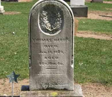 HARRIS, THOMAS - Lorain County, Ohio   THOMAS HARRIS - Ohio Gravestone Photos