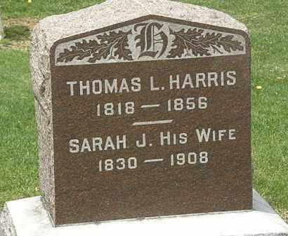 HARRIS, THOMAS L. - Lorain County, Ohio | THOMAS L. HARRIS - Ohio Gravestone Photos