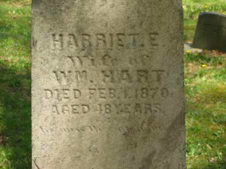 HART, HARRIET E. - Lorain County, Ohio | HARRIET E. HART - Ohio Gravestone Photos