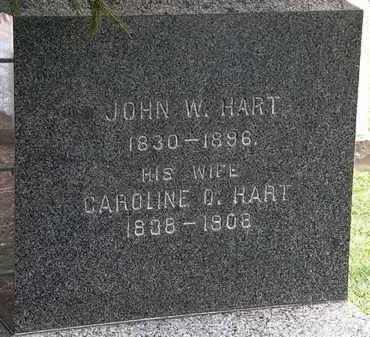 HART, CAROLINE O. - Lorain County, Ohio | CAROLINE O. HART - Ohio Gravestone Photos