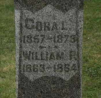 HASTINGS, CORA L. - Lorain County, Ohio   CORA L. HASTINGS - Ohio Gravestone Photos