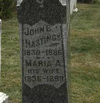 HASTINGS, MARIA A. - Lorain County, Ohio | MARIA A. HASTINGS - Ohio Gravestone Photos