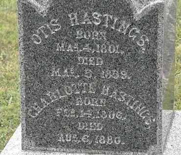 HASTINGS, OTIS - Lorain County, Ohio   OTIS HASTINGS - Ohio Gravestone Photos