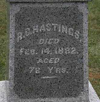 HASTINGS, R. C. - Lorain County, Ohio | R. C. HASTINGS - Ohio Gravestone Photos