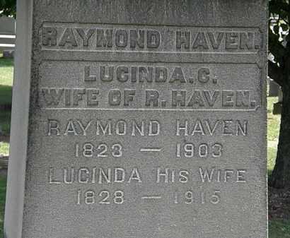 HAVEN, LUCINDA C. - Lorain County, Ohio | LUCINDA C. HAVEN - Ohio Gravestone Photos