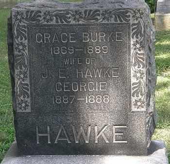 HAWKE, J.E. - Lorain County, Ohio | J.E. HAWKE - Ohio Gravestone Photos