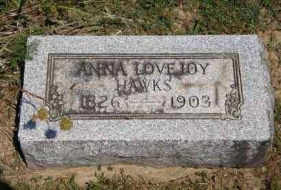HAWKS, ANNA - Lorain County, Ohio | ANNA HAWKS - Ohio Gravestone Photos